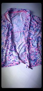 Lilly Pulitzer large Luxletic jacket